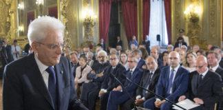 Sergio Mattarella riceve il dossier sui giornalisti minacciati