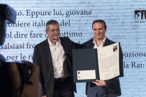 Nico Piro, docente di mobile journalism per la formazione di Stampa Romana