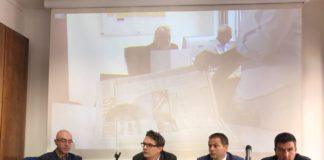 Presentazione de Il Romanista nella sede dell'Associazione Stampa Romana
