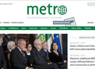 metro comunicato sindacale